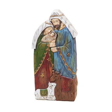 WIDDOP MARY JOSEPH & JESUS NATIVITY FIGURINE