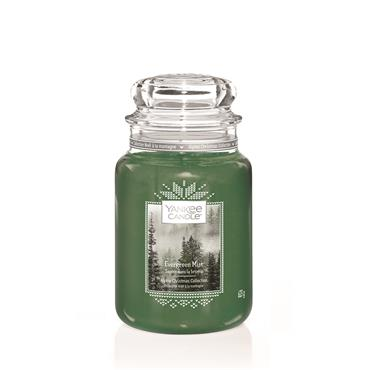 YANKEE EVERGREEN MIST LARGE JAR CANDLE