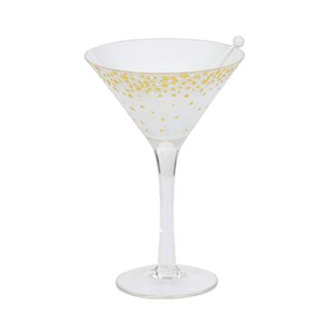 YANKEE HOLIDAY PARTY MARTINI TEA LIGHT HOLDER