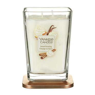 YANKEE SWEET FROSTING 2 WICK CANDLE LARGE JAR
