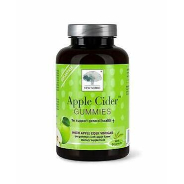 NEW NORDIC APPLE CIDER GUMMIES 60S