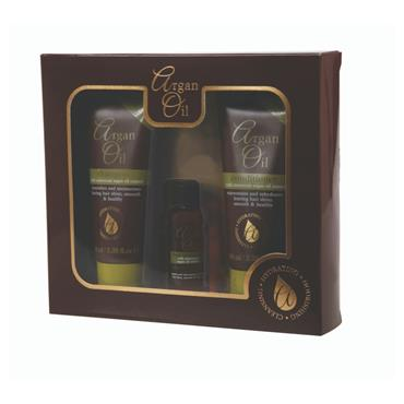 ARGAN OIL 3 PIECE GIFT SET