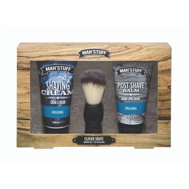 MAN STUFF CLOSER SHAVE SET