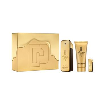 PACO RABANNE 1 MILLION MENS 3 PIECE GIFTSET