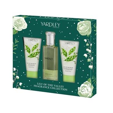 YARDLEY LILY OF THE VALLEY 3 PIECE 50ML