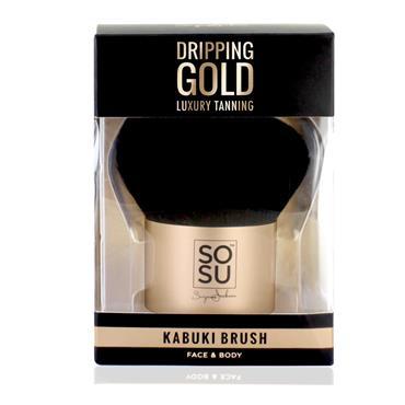 SOSU DRIPPING GOLD LARGE KABUKI BRUSH
