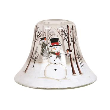 AROMATIZE SNOWMAN CANDLE LAMP