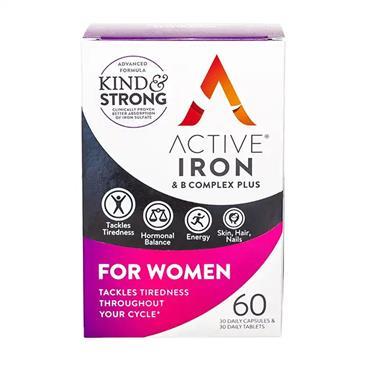 ACTIVE IRON WOMEN 60 CAPSULES