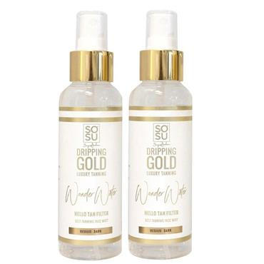 SOSU TANNING MIST 125ML MEDIUM-DARK  TWIN PACK