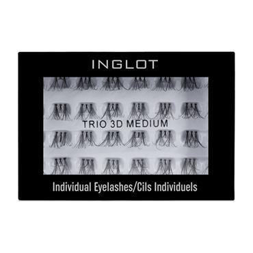 INGLOT TRIO 3D 96 INDIVIDUAL LASHES