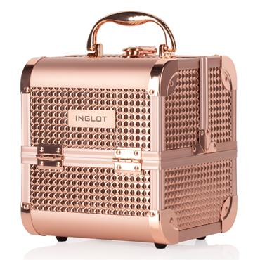 INGLOT MAKEUP CASE DIAMOND ROSE GOLD