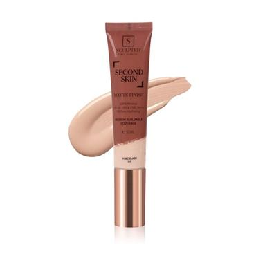 SCULPTED BY AIMEE SECOND SKIN MATTE PORCELAIN 32ML