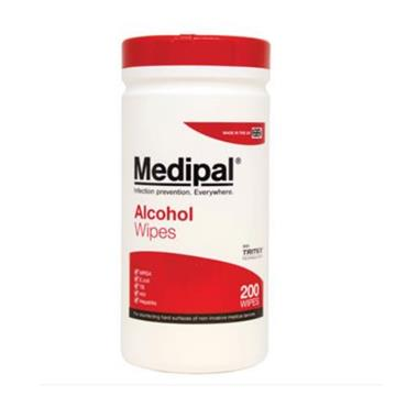 MEDIPAL ALCOHOL WIPES 200 WIPES