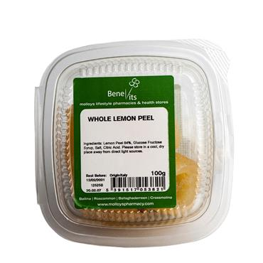 BENEVITS WHOLE LEMON PEEL 100G