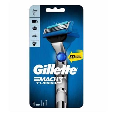 GILLETTE MACH 3 TURBO 3D