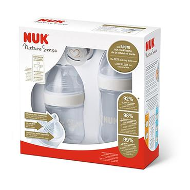 NUK NATURESENSE START SET 3 PIECE