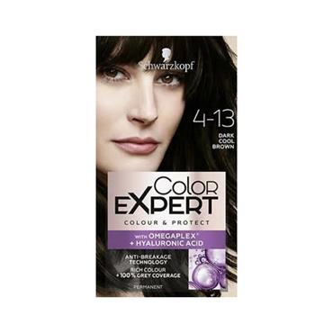 SCHWARZKOPF COLOUR EXPERT DARK COOL BROWN 4.13
