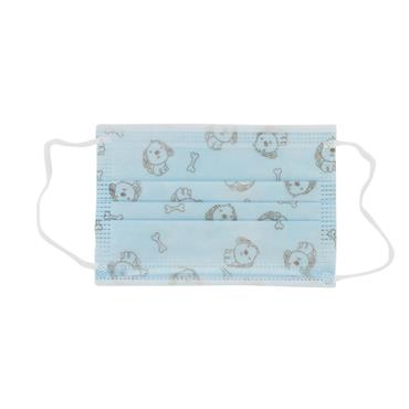 SUNDRELLE KIDDY FACE MASK BLUE