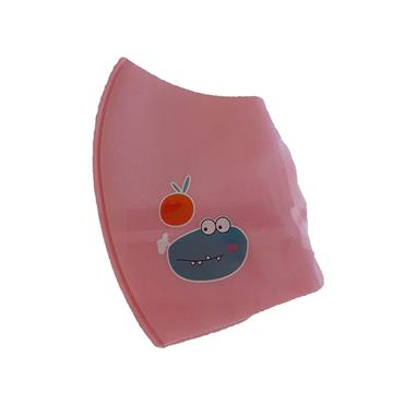 SUNDRELLE KIDDY POLYESTER FACE MASK PINK