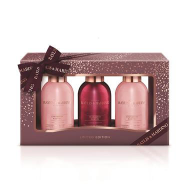 BAYLIS AND HARDING CRANBERRY MARTINI LUXURY BATHING TREATS