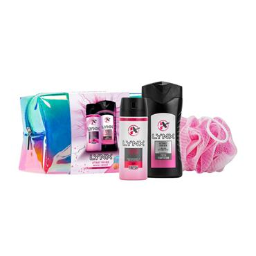 LYNX ATTRACT FOR HER WASHBAG GIFTSET