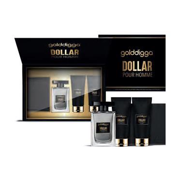 GOLDDIGGA DOLLAR 100ML 4 PIECE GIFTSET
