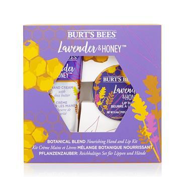 BURTS BEE LAVENDER & HONEY GIFT SET