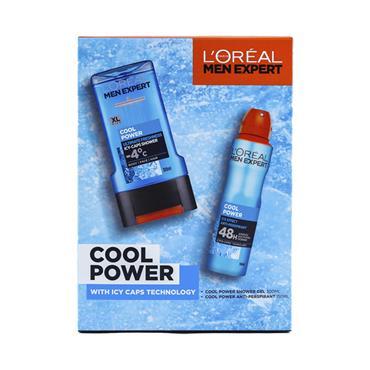 L'OREAL MEN EXPERT COOL POWER 2 PIECE GIFTSET