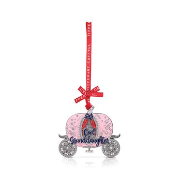 TIPPERARY CRYSTAL COOL GRANDAUGHTER CHRISTMAS DECORATION