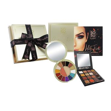 SOSU AIDEEN KATE AND HOTFIRE 2 PALLETTE BUNDLE