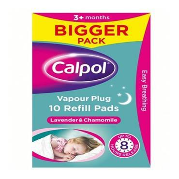 CALPOL VAPOUR PLUG REFILLS 10S