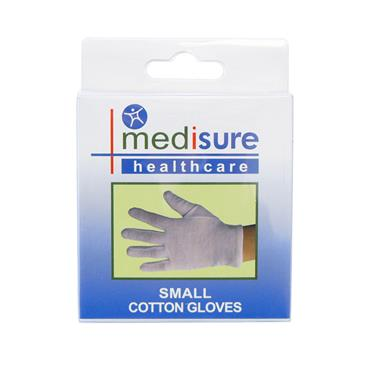 MEDISURE COTTON GLOVES SMALL