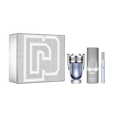 PACO RABANNE INVICTUS 50ML 3 PIECE GIFTSET