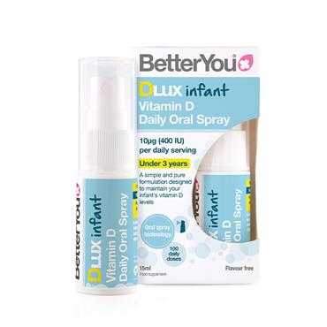 BETTER YOU DLUX INFANT ORAL VITAMIN D SPRAY