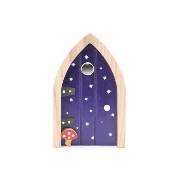 THE IRISH FAIRY DOOR COMPANY NAVY MUSHROOM DOOR MAGNET