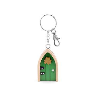 THE IRISH FAIRY DOOR COMPANY GREEN DOOR KEYRING