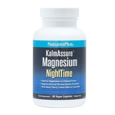 NATURES PLUS KALMASSURE MAGNESIUM NIGHTIME 60 CAPSULES