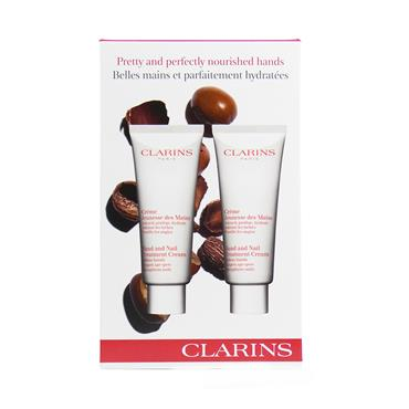 CLARINS HAND AND NAIL TREATMENT CREAM DUO 2 X 100ML