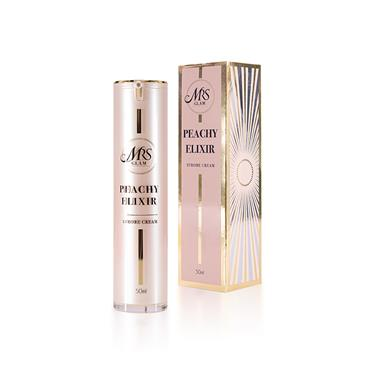 BPERFECT MRS GLAM PEACHY ELIXIR STROBE CREAM 50ML