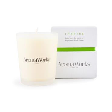 AROMA WORKS MEDIUM 30CL CANDLE INSPIRE