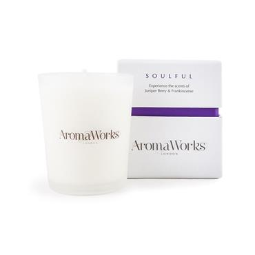 AROMA WORKS MEDIUM 30CL CANDLE SOULFUL