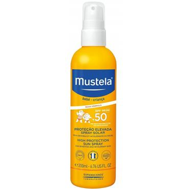 MUSTELA INFANT HIGH PROTECTION SUN SPRAY SPF 50 200ML
