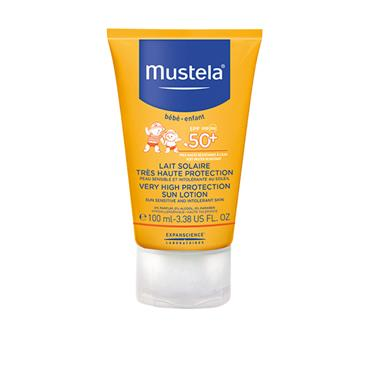 MUSTELA INFANT VERY HIGH PROTECTION SUN LOTION SPF 50+ 100ML