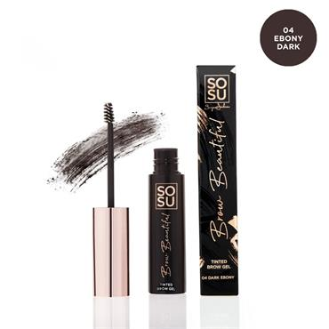 SOSU BROW BEAUTIFUL BROW GEL EBONY DARK