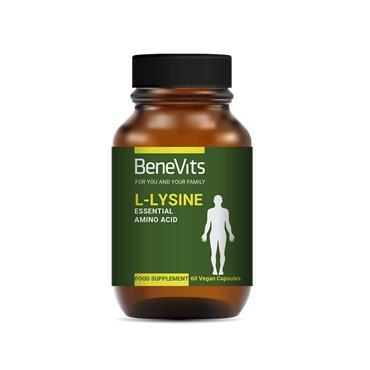 BENEVITS L-LYSINE 500MG 60 CAPSULES