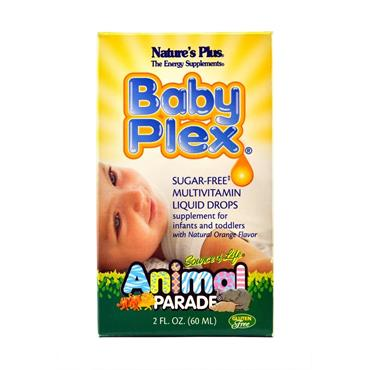 NATURES PLUS ANIMAL PARADE BABY PLEX DROPS 60ML