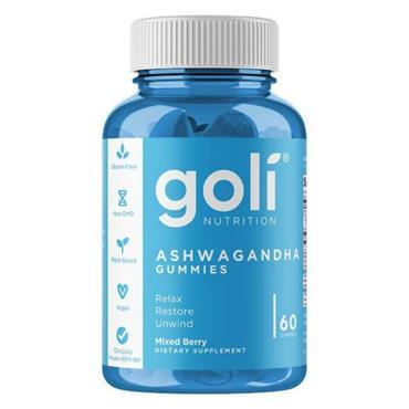 GOLI ASHWAGANDHA 60 GUMMIES