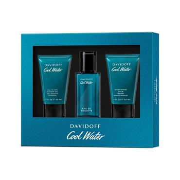 COOL WATER MENS 40ML 3 PIECE GIFTSET