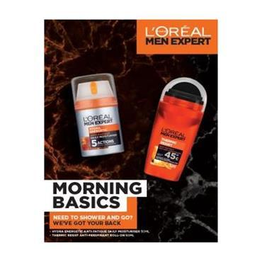 L'OREAL MEN EXPERT MORNING BASICS 2 PIECE GIFTSET
