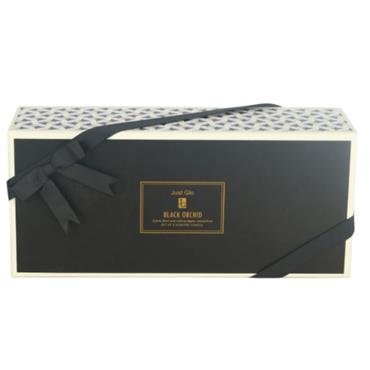 JUST GLO BLACK ORCHID 3 X 140G CANDLES